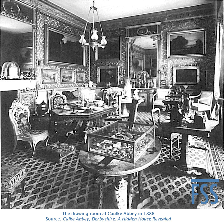 Calke Abbey drawing room 1886-FSS