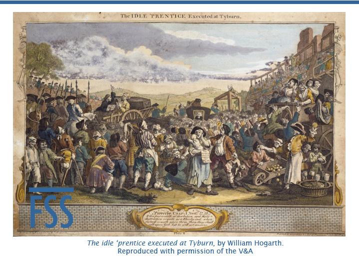 Idle prentice executed at Tyburn-FI