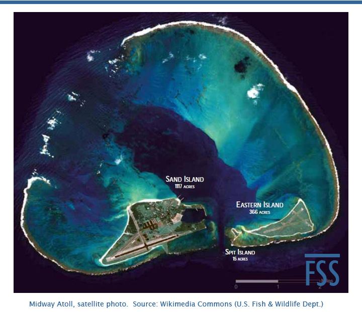 Midway Atoll satellite
