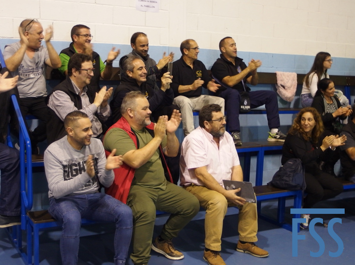 Spanish National 2019 applause-FSS