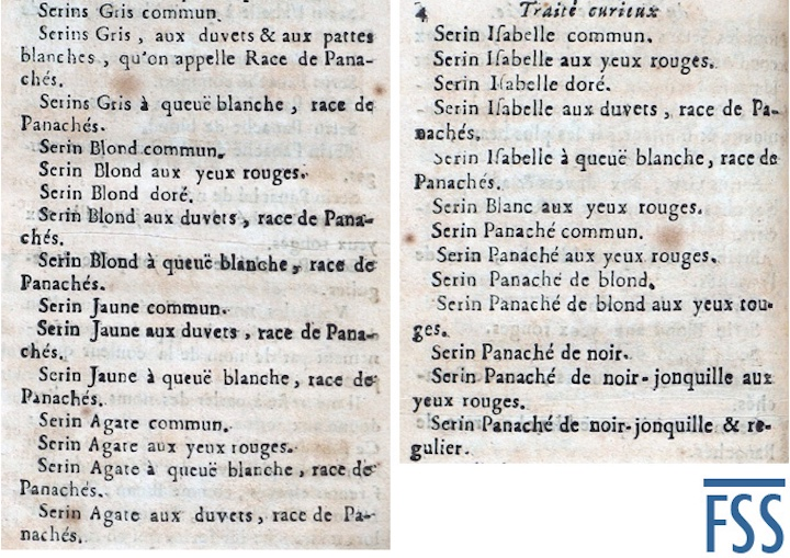Hervieux's list 1711-FSS