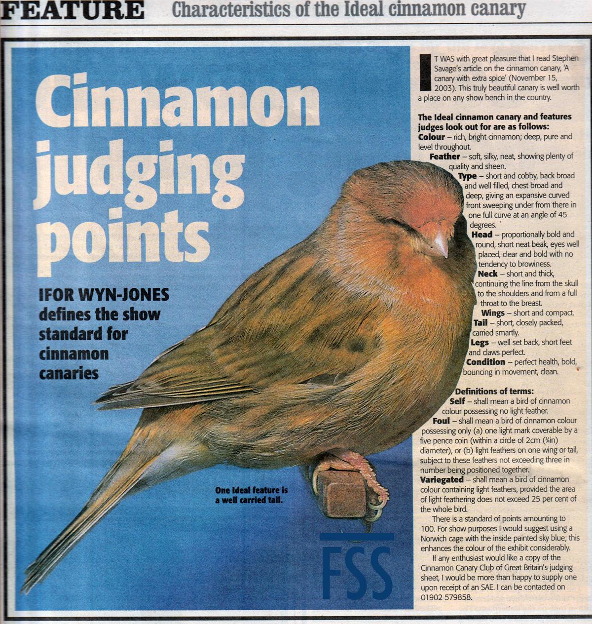 C&AB 2004.02.07 Cinnamon standard-FSS